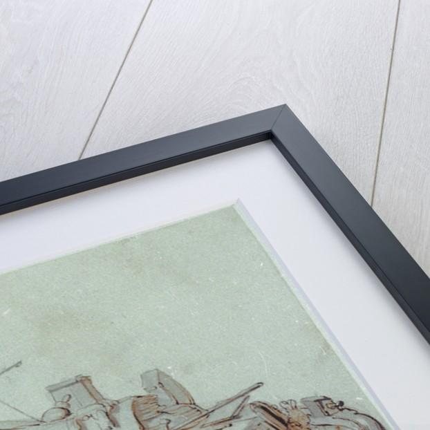 Study of an aak by Willem van de Velde the Elder