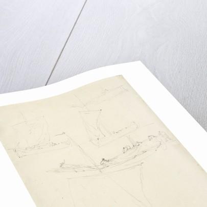 Sketches of a hoeker by Willem Van de Velde the Younger