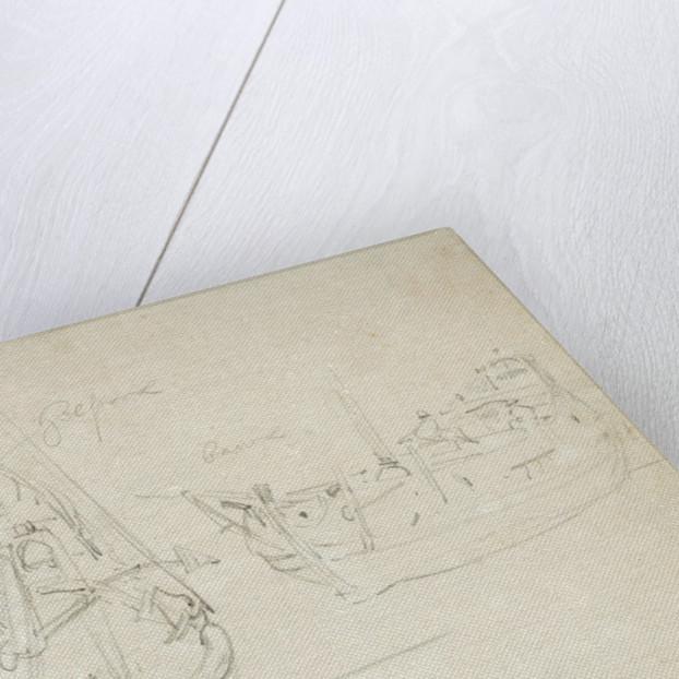 Portrait of the 'Royal Escape'? by Willem Van de Velde the Younger