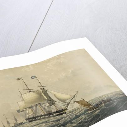 The East Indiaman 'Trafalgar' East Indiaman by Thomas Goldsworth Dutton
