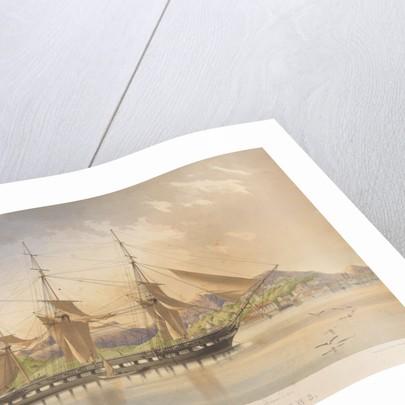 HMS 'Forte' (51 Guns) at Rio de Janeiro 1st December 1861 by Lieutenant G L Tupman