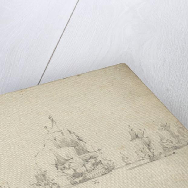 Dutch Fleet before the Battle of Lowestoft, May 1665 by Willem van de Velde the Elder