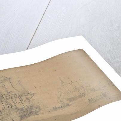 The 'Gelderland' and other ships by Willem van de Velde the Elder