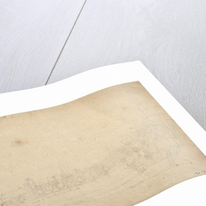 Portrait of the 'Saudadoes' by Willem Van de Velde the Younger