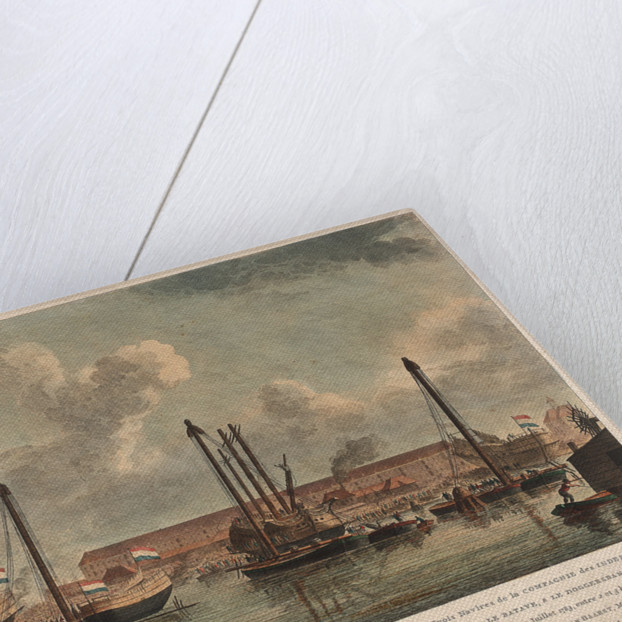 The East Indiamen 'Sirene', 'Batave' and 'Doggersbank' by J. Andriesson