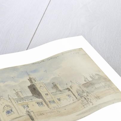 Norfolk College Greenwich 1839 by unknown