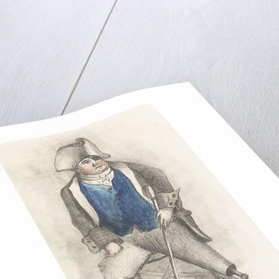 Portrait of Joseph Burgin by Samuel Lane