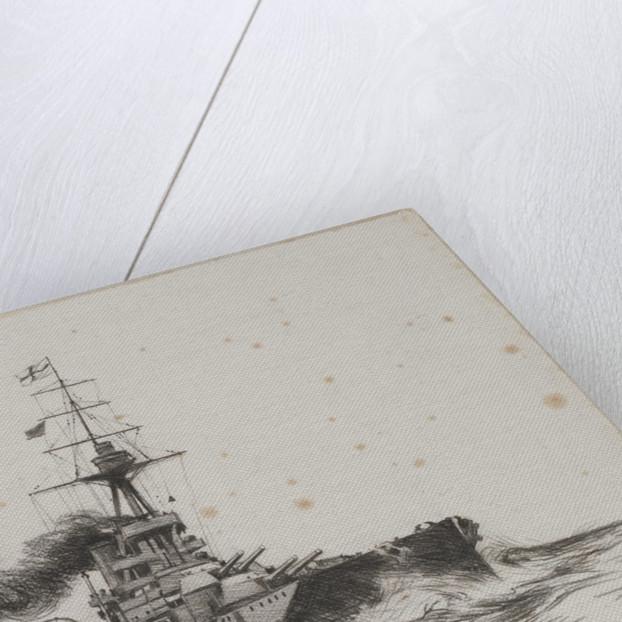 HMS 'Iron Duke' by Charles M. Padday