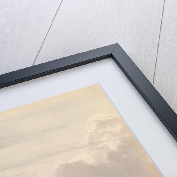 Study of dark clouds by John Christian Schetky
