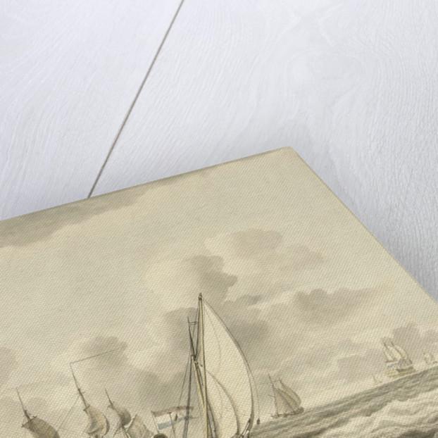 Damlooper before the wind by Pieter Aartsz Blauw