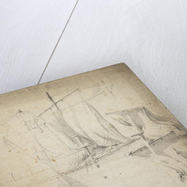 Portait of the 'Kampveere' (?) by Willem van de Velde the Elder