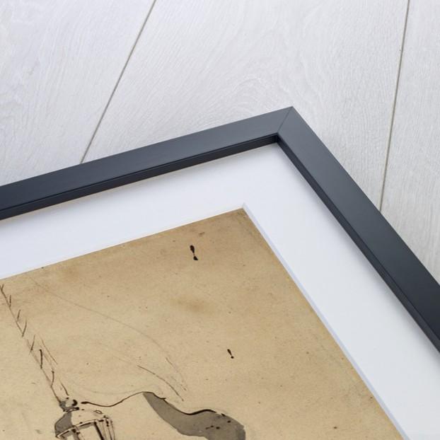 Portrait of the 'Seahorse' by Willem Van de Velde the Younger