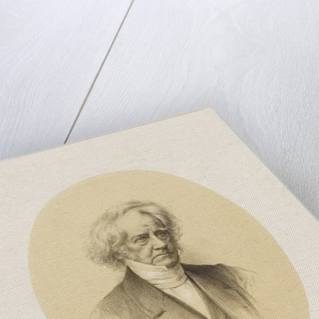 Sir John Frederick William Herschel (1792-1871) by M. & N. Hanhart