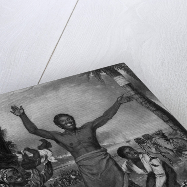 To the friends of Negro Emancipation, (Negros rejoicing at their freedom) by Alexander Rippingille