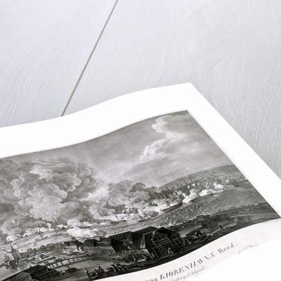 Bataillen d.2 April 1801, paa Kiobenhavns Reed [Battle of 2 April 1801 in Copenhagen Roads] by Christian August Lorentzen