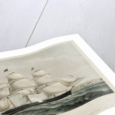 Clipper ship 'Spray of the Ocean' by C.P. Williams