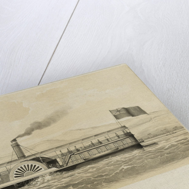 Iron steamer for the Ganges by unknown
