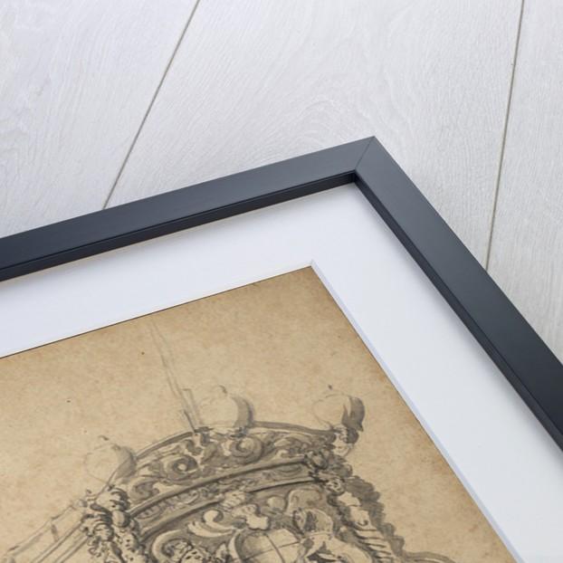 Portrait of the 'Mountagu' by Willem van de Velde the Elder