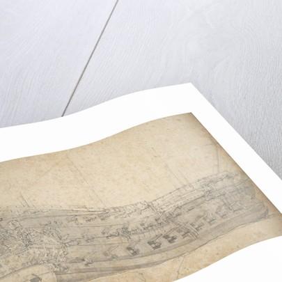 Portrait of the 'Eendracht' by Willem van de Velde the Elder