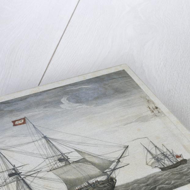 Spanish fighting ship by Emeric