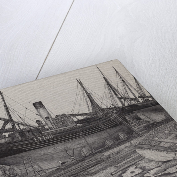 The 'Formidable' in Chambers slip to have the bottom cleaned by Edward J. Frost