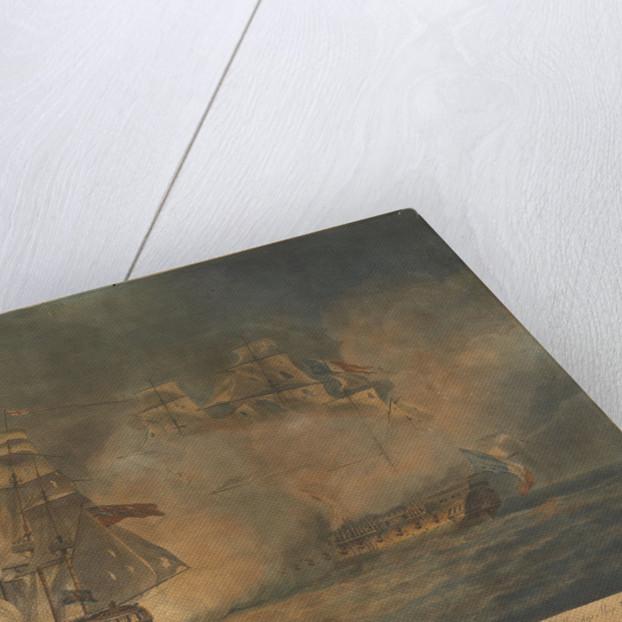 The capture of 'La Tribune' by HMS 'Unicorn', 8 June 1796 by Francis Chesham