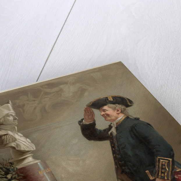 Saluting the Admiral by Albert W. Holden