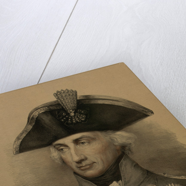 Vice-Admiral Horatio Nelson (1758-1805) by Lemuel Francis Abbott
