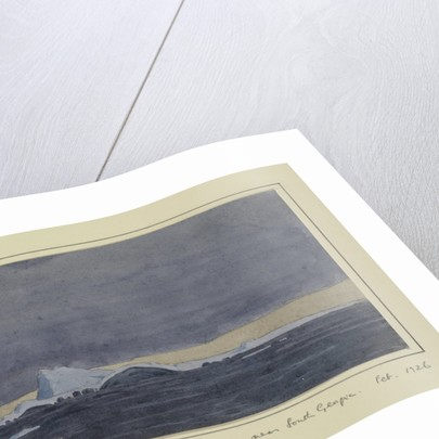 Berg of flack ice - seen at dawn - near South Georgia, Feb 1926 by Sir Alister Hardy