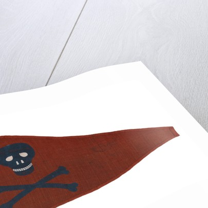 Burgee of Pirate Yacht Club, Bridlington by unknown