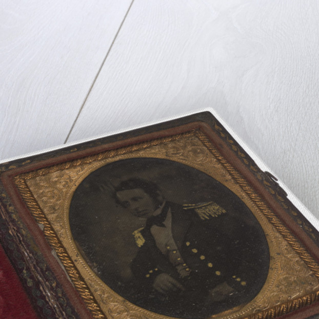 Portrait of Lieutenant Commander George Bennett Lawrance, Royal Navy by unknown