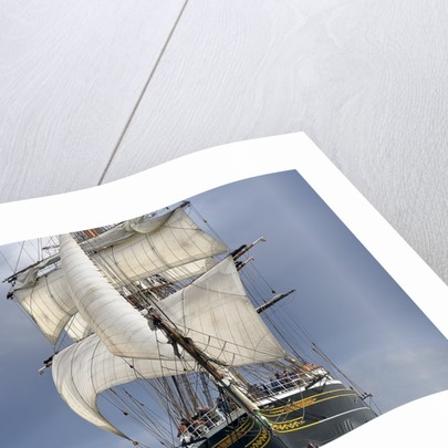 Full-rigged ship 'Stad Amsterdam' North Sea Regatta 2010 by Richard Sibley