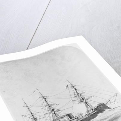 HMS 'Monarch' (1868) under way by W. Spalding