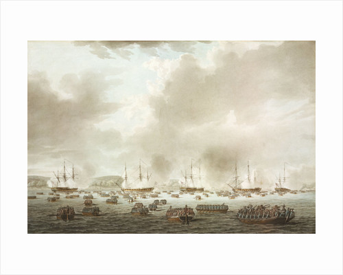 The British landing at Kip's Bay, New York Island, 15 September 1776 by Robert Cleveley