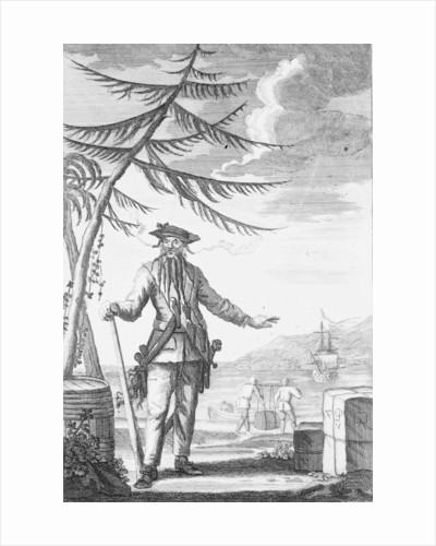 Captain Edward Teach, commonly known as Blackbeard by Thomas Nicholls