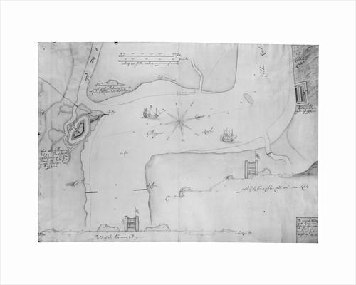 Gillingham and Cookham Bloods, River Medway by Bernard de Gomme