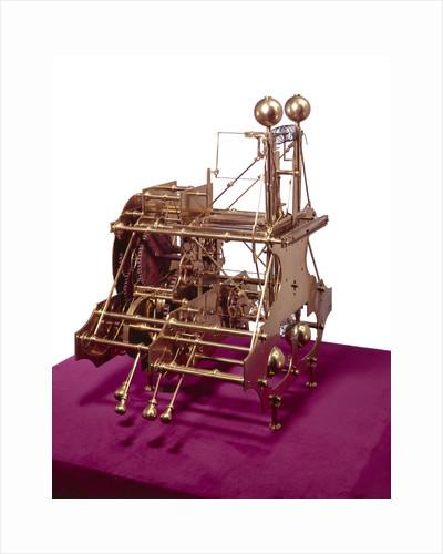 Winding wheels of John Harrison's marine timekeeper H1 by John Harrison