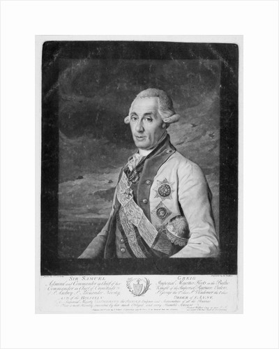 Sir Samuel Greig by unknown
