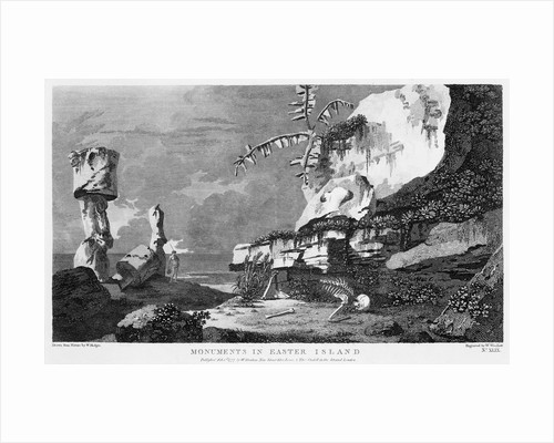 Monuments in Easter Island by William Woollett