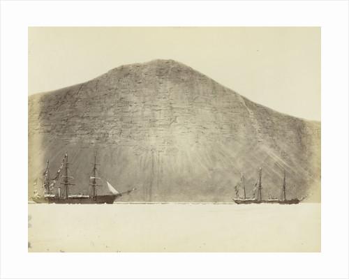 Fast to the floe under Cape Prescott, Franklin Pierce Bay by George White