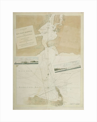 New York harbour by J.F.W. Des Barres