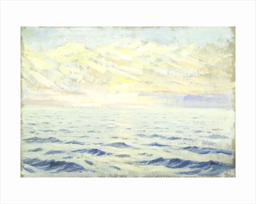 Seascape from the 'Suzanne' by Herbert Barnard John Everett