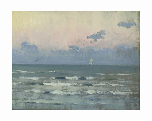 Seascape, Corbiere by Herbert Barnard John Everett