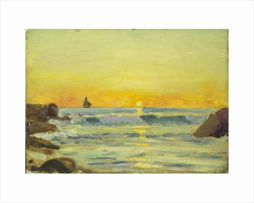 Seascape, Le Croisic by Herbert Barnard John Everett