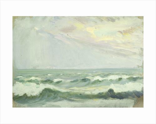 Seascape, Porthleven by Herbert Barnard John Everett