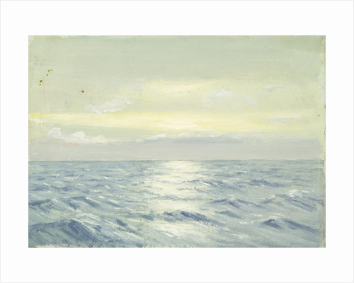 Seascape form the 'Umberleigh' by Herbert Barnard John Everett