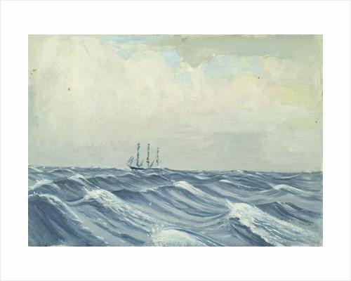 Seascape from the 'Umberleigh' by Herbert Barnard John Everett