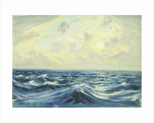 Seascape from the 'Allsund' by Herbert Barnard John Everett