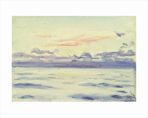 Sunrise from the 'Castilian' by Herbert Barnard John Everett