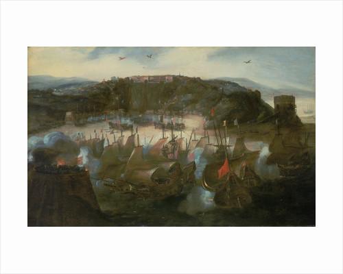 Attack on San Salvador by Andries van Eertvelt